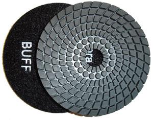 Toolocity 4 inch JX Shine35 Diamond Polishing Pad Black Buff at Sears.com