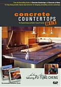 Concrete countertop how to vedio