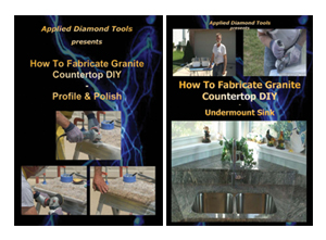 How to Fabricate Granite Countertop - Profile & Polish Edge