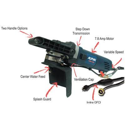 Alpha Electric Variable Speed Wet Stone Polisher - Model VSP-120 at Sears.com
