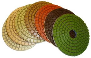 Ceramica Diamond Polishing Pads - Set of 7 pcs