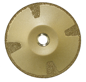Brazed Diamond Contour Blade 5""