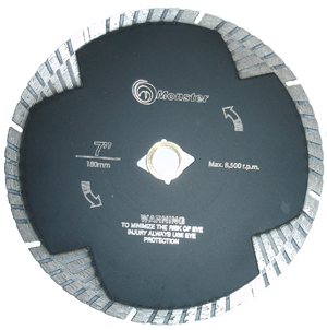 Monster Euro Diamond Blade 7""