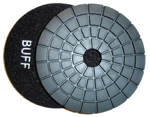 Toolocity 4 inch JX Shine Diamond Polishing Pad - Buff Black at Sears.com