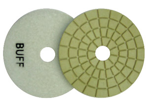 Toolocity 4 inch JX Shine Diamond Polishing Pad - Buff White at Sears.com