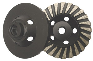 diamond cup grinding wheel 5inch