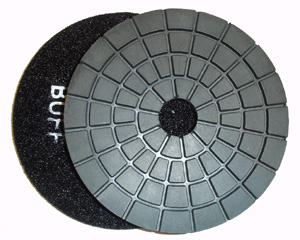 Toolocity 4 inch JX Shine40 Diamond Polishing Pad Black Buff at Sears.com
