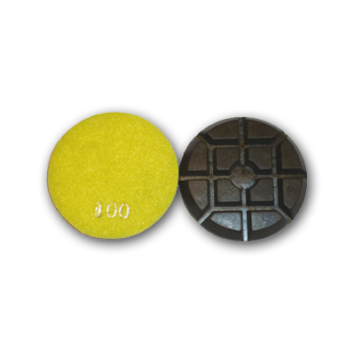 "3"" Typhoon Dry Concrete Polishing Pads 100 grit"