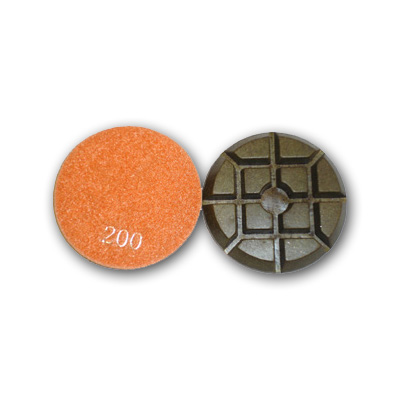 "3"" Typhoon Dry Concrete Polishing Pads 200 grit"