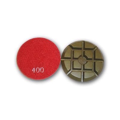 "3"" Typhoon Dry Concrete Polishing Pads 400 grit"