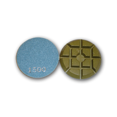 "3"" Typhoon Dry Concrete Polishing Pads 1500 grit"