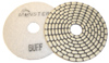 Monster Bric Dry Diamond Polishing Pads - White Buff