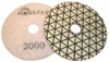 Monster Trio Dry Diamond Polishing Pads - 3000 Grit