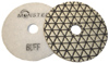 Monster Trio Dry Diamond Polishing Pads - White Buff