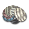 Monster Trio Dry Diamond Polishing Pads - Set of 8 pcs with Black Buff