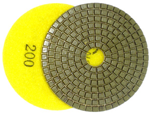 Diamond Polishing Pad for Engineered Stone - 200 Grit