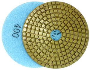 Diamond Polishing Pad for Engineered Stone - 400 Grit