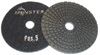 5-Step Monster Diamond Polishing Pads POS 5