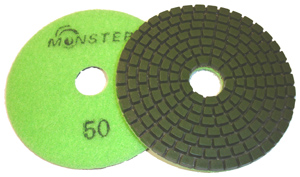 Monster Diamond Polishing Pad 50 Grit