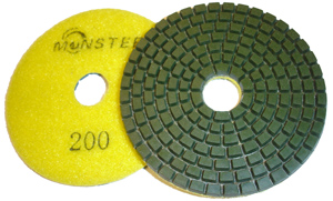 Monster Diamond Polishing Pad 200 Grit