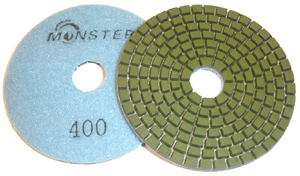 Monster Diamond Polishing Pad 400 Grit