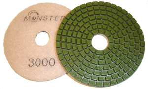 Monster Diamond Polishing Pad 3000 Grit