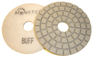 Monster Diamond Polishing Pad White Buff