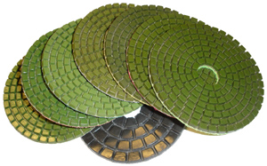 Monster Diamond Polishing Pad - Set of 8