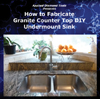 How to Fabricate Granite Countertop - Cut & Polish Undermount Sink