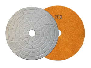 Vacuum Barzed Diamond Floor Grinding Disc