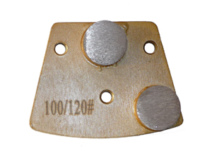 Trapezoid Diamond Floor Disc