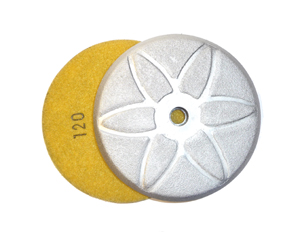 brazed diamond grinding disc