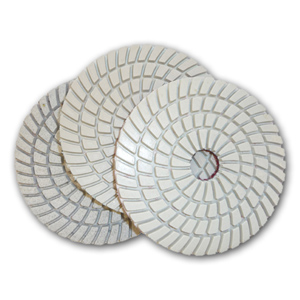 3-step Premium diamond polishing pads for granite