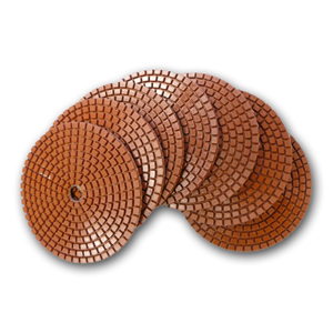JHX Metal Bond Diamond Polishing Pads