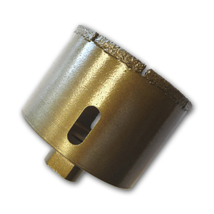 Brazed Diamond Core Bit 4""