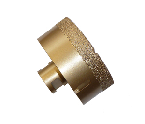Brazed Diamond Core Bit 3-1/2""