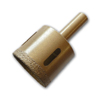 brazed diamond core bit with 1/2