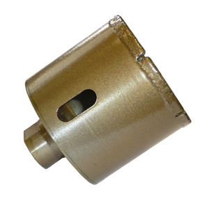 Brazed Diamond Core Bit 3""