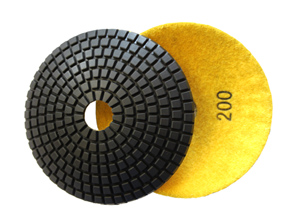 JX BOWL Diamond Polishing Pads 200 Grit