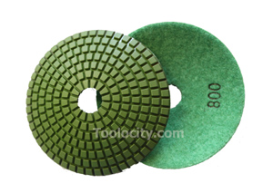 JX BOWL Diamond Polishing Pads 800 Grit