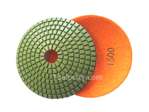JX BOWL Diamond Polishing Pads 1500 Grit
