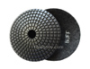 JX BOWL Diamond Polishing Pads Black Buff