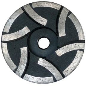 Cyclone Flat Resin Diamond Cup Wheel