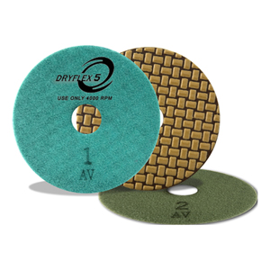 Cyclone DryFlex5 Dry Polishing Pads