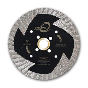 Cyclone Side Segment Turbo Blade