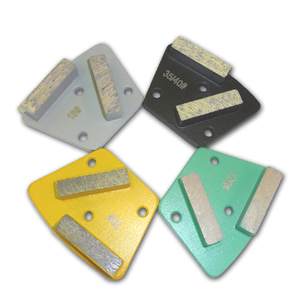 Trapezoid 2-Bar  Diamond Floor Disc