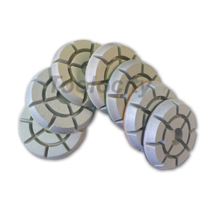 "3"" QuikShine Dry Diamond Floor Polishing Pads"