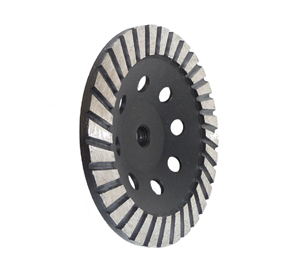diamond cup grinding wheel 7""