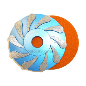 Teardrop Diamond Grinding Wheel - Coarse 5""