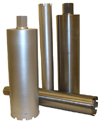 Diamond core bits for concrete